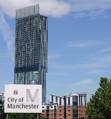 Manchester sign