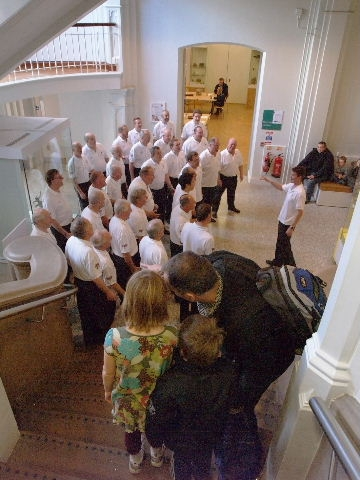 Cottontown Chorus at Museum...